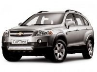EVA коврики на Chevrolet Captiva 5 мест 2006 - 2011