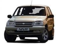 EVA коврики на Chevrolet Niva 2002 - 2009