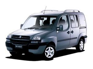 EVA коврики на Fiat Doblo 5 мест 2001 - 2005