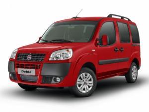 EVA коврики на Fiat Doblo l 5 мест 2005 - 2015