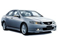 EVA коврики на Honda Accord VII (правый руль) 2003 - 2008