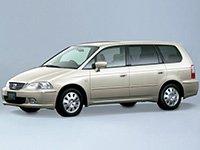 EVA коврики на Honda Odyssey II (правый руль) 1999-2003