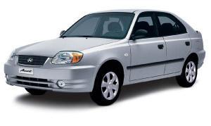 EVA коврики на Hyundai Accent 2000 - 2012