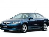 EVA коврики на Mazda 6 (GG) 2002 - 2008 (лифтбек)