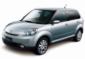EVA коврики на Mazda Verisa 2004 - н.в (правый руль)