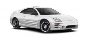 EVA коврики на Mitsubishi Eclipse III 1999 - 2006
