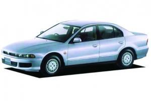 EVA коврики на Mitsubishi Galant VIII (правый руль) 1996 - 2006