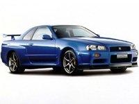 EVA коврики на Nissan Skyline R34 (правый руль) 1998 - 2002