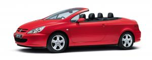 EVA коврики на Peugeot 307 CC (кабриолет) 2001 - 2008