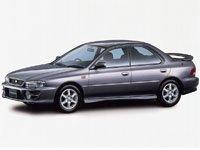 EVA коврики на Subaru Impreza I 1992 - 2000