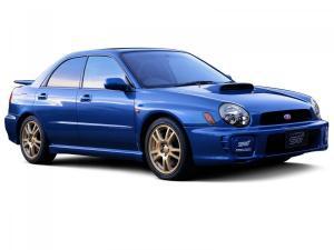 EVA коврики на Subaru Impreza II 2000 - 2007