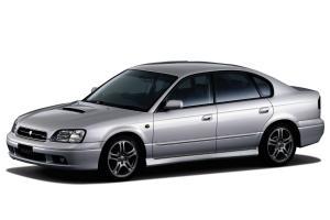 EVA коврики на Subaru Legacy III (правый руль) 1998 - 2003