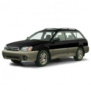 EVA коврики на Subaru Outback II 1999 - 2003