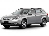 EVA коврики на Subaru Outback IV 2009 - 2014
