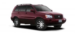 EVA коврики на Toyota Highlander I (U20) 2001 - 2007