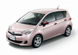 EVA коврики на Toyota Ractis II (правый руль) 2010-2016