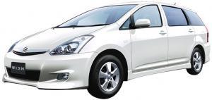 EVA коврики на Toyota Wish I (2003-2009) (правый руль)