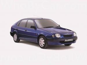 EVA коврики на Toyota Corolla (E110) 1997 - 2001
