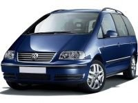 EVA коврики на Volkswagen Sharan (7/6 мест) 1995 - 2010