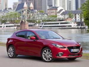 EVA коврики на Mazda 3 2013 - 2019 (хечбек)