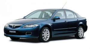 EVA коврики на Mazda Atenza (правый руль) седан 2002 - 2008