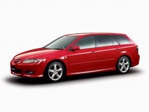 EVA коврики на Mazda Atenza (правый руль) универсал 2002 - 2008