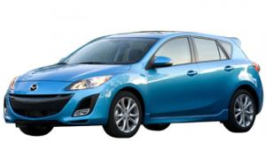 EVA коврики на Mazda Axela (правый руль) 2009 - 2013 (хэчбек)