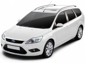 EVA коврики на Ford Focus II 2005 - 2010 (универсал)