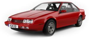 EVA коврики на Chevrolet Beretta 1987-1996 г