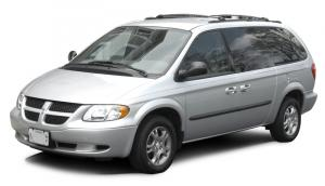 EVA коврики на Dodge Caravan IV (2001 - 2007) (задний диван)