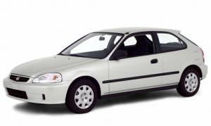EVA коврики на Honda Civic VI (3D/5D) 1995 - 2002