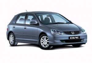 EVA коврики на Honda Civic VII (хетчбек) 2001 - 2006