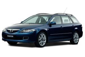 EVA коврики на Mazda 6 (GY) Wagon 4WD 2002 - 2008