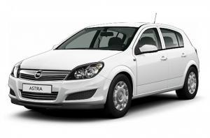 EVA коврики на Opel Astra H (хетчбек) 2004 - 2012