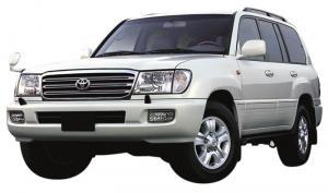 EVA коврики на Toyota Land Cruiser 100 1998 - 2007 (правый руль)