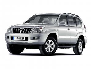 EVA коврики на Toyota Land Cruiser  Prado 120 2002 - 2009