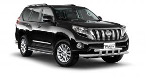 EVA коврики на Toyota Land Cruiser  Prado 150 2013 - 2017