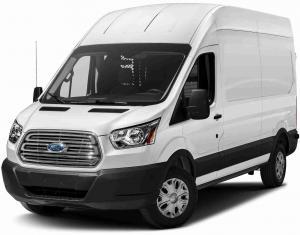 EVA коврики на Ford Transit 2018