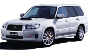 EVA коврики на Subaru Forester II 2002 - 2008