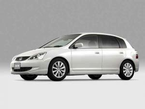 EVA коврики на Honda Civic VII (EU) 2000-2005 хэтчбек , передн. привод, правый руль