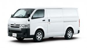 EVA коврики на Toyota HiAce 2004 (H 200) 2004-2010 (правый руль)
