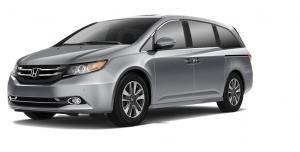 EVA коврики на Honda Odyssey IV 2008-2013  (правый руль)