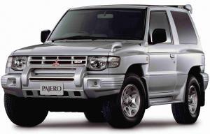 EVA коврики на Mitsubishi Pajero II 1990 - 2004 3 двери