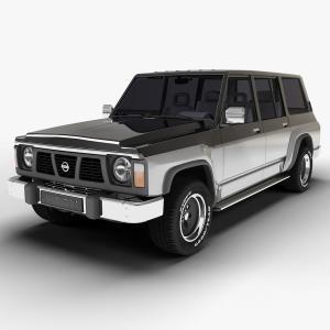 EVA коврики на Nissan Patrol (Y60) 1987-1997
