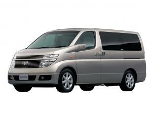 EVA коврики на Nissan Elgrand II (E51) 2002-2010 (правый руль)