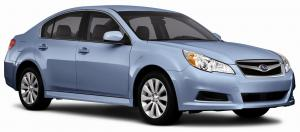 EVA коврики на Subaru Legacy V 2009 - 2014 правый руль