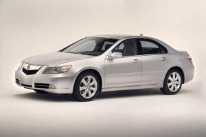 Acura RL II Рестайлинг 2008-2012