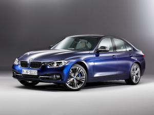 EVA коврики на BMW 3 (F30) (рестаил) 2016-2020