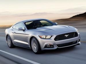 EVA коврики на Ford Mustang VI 2014-2020