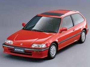 EVA коврики на Honda Civic IV (3D) 1986-1996